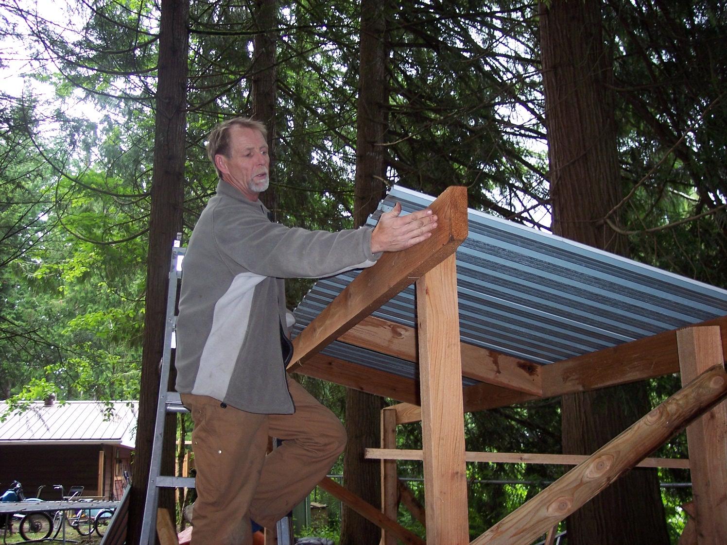 Srp Enterprises Weblog: Build A Wood Shed In 6 Hours